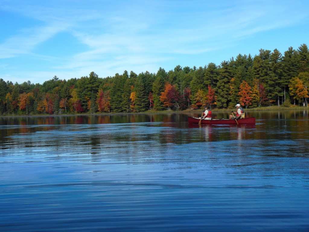 Fall colours on MVFN's 2014 fall paddle. photo B. Boyd