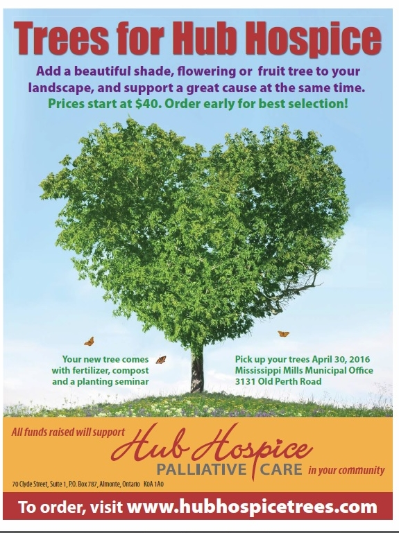 trees for hospice